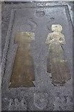 TQ9220 : Anonymous Brass, St Mary's church. Rye by Julian P Guffogg