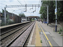 SJ7667 : Holmes Chapel railway station by Nigel Thompson