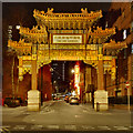 SJ8497 : The Chinese Arch, Faulkner Street by David Dixon