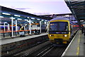 SU9949 : Guildford Station - Redhill train arriving by N Chadwick
