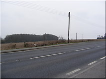 TM4069 : Layby on the A12 Main Road by Adrian Cable