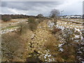 NS4354 : Northern East Ayrshire : View NE From Pollick Farm Bridge by Richard West