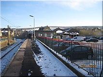 SK0394 : Glossop railway station by Nigel Thompson