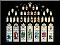 SJ8398 : East Window, Manchester Cathedral by David Dixon