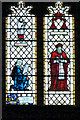 SJ8398 : East Window (detail) by David Dixon