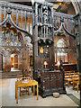 SJ8398 : The Bishop's Seat (cathedra) by David Dixon