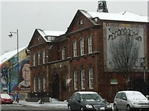 J3274 : Library on Falls Road, West Belfast by Darrin Antrobus