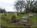 TL1791 : Graveyard next to St Peter's church, Yaxley by Richard Humphrey