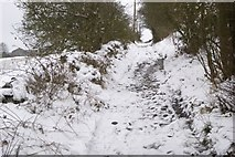 SE1240 : Tewitt Lane, Eldwick by Richard Kay