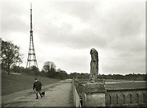 TQ3370 : A Winter's Day, Crystal Palace by Des Blenkinsopp
