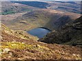 V7073 : Steep Slope and Lake by kevin higgins