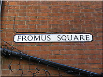 TM3863 : Fromus Square Sign by Adrian Cable
