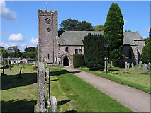 NY7204 : St. Oswald's Church, Ravenstonedale by Trevor Littlewood