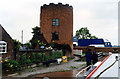 SJ9210 : Gailey Lock 32 by the A5 Staffs and Worcester Canal by Jo Turner