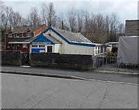SS8983 : Aberkenfig Spiritualist Church  by Jaggery
