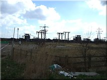 TA1914 : Electrical sub station off Kings Road by JThomas