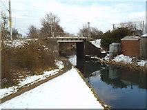 SO9394 : Rail Bridge by Gordon Griffiths
