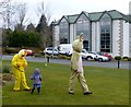 H4573 : Easter egg hunt at the Silverbirch Hotel, Omagh by Kenneth  Allen