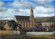 NH5558 : Free Church, Dingwall by Mary and Angus Hogg