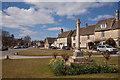 ST8673 : Biddestone Village Green and War Memorial by Doug Lee