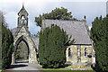SE7872 : Grade II listed Cemetery Chapel, Malton by Pauline E