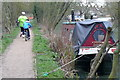 SP5006 : Towpath near Oxford by Graham Horn