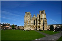 ST5545 : Wells Cathedral by David Boness