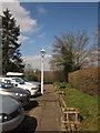 SX8586 : Nobody Inn car park by Derek Harper
