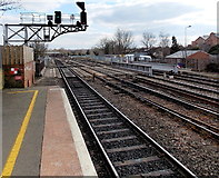 SP5006 : A view south from Oxford railway station by Jaggery