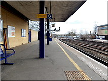 SP5006 : Southern end of platform 1 South, Oxford railway station by Jaggery