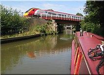 SP6165 : Grand Union Canal: Bridge Number 13B by Nigel Cox