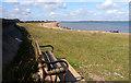 TR0764 : Seasalter Seashore Seat by Des Blenkinsopp
