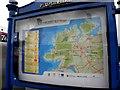 H4891 : Information board, HEART Public Art Trail by Kenneth  Allen