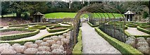 ST5071 : Parterre garden, Tyntesfield House, by Brian Robert Marshall