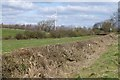 SK4425 : Field near East Midlands Airport by David Lally
