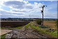 SK4025 : Fields to the east of Melbourne by David Lally