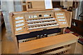 TQ8209 : Organ Console, St Clement's church, Hastings by Julian P Guffogg