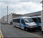 SS8983 : Welshbreakers coaches, Aberkenfig by Jaggery