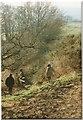 SY2893 : East Devon Way below Musbury Castle, 1996 by Derek Harper