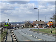 NZ3549 : Seaham Road, Houghton-le-Spring by Malc McDonald