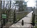 SP0366 : Musketts Way footbridge over A448, Redditch by Robin Stott