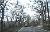 SH7519 : Minor junction on the A494 by Anthony Parkes