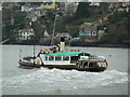 SX8751 : Paddle Steamer Kingswear Castle at Dartmouth by Chris Allen