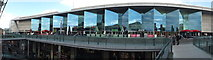 SJ3490 : Panorama of Upper Level Liverpool One shopping centre by Richard Hoare