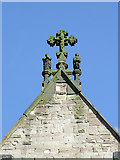 SO9198 : Church of St Mary and St John (detail), Wolverhampton by Roger  Kidd