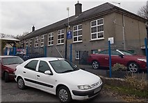 SS8983 : St Robert's RC primary school, Aberkenfig by Jaggery