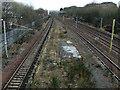 NS6161 : Railway near Rutherglen station by Thomas Nugent