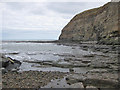 NZ7818 : Penny Nab, Staithes by Pauline E