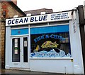 SU8821 : 'Ocean Blue' fish and chip shop, Midhurst by nick macneill