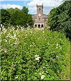 SK2957 : Cromford church by Graham Horn